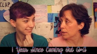 1 Year Since Coming Out Q&A ft My Mom! | ChandlerNWilson