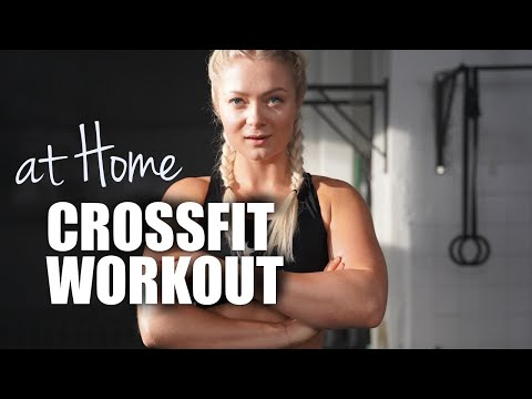 CROSSFIT ® HOME WORKOUT   HIIT   No Equipment needed