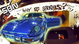 NASTY Show Cars at SBN 2013 w/ COOL Car Audio Systems | Datsun 280ZX & BEAUTIFUL Fiberglass Install