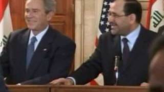 George Bush shoe attack