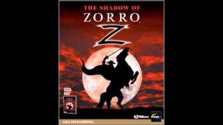 The Shadow of Zorro music: Menu