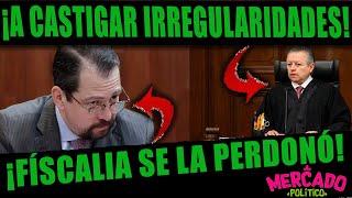 ¡LES CAYÓ LA VOLADORA A MAGISTRADOS CORRUPTOS!  ZALDIVAR PIDE FACULTADES LEGALES PARA SANCIONARLOS