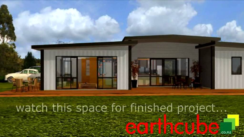 EARTHCUBE SHIPPING CONTAINER HOME KAIMAI RANGE NEW ZEALAND