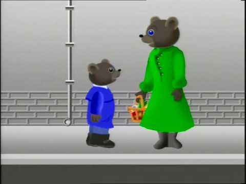 Petit ours brun episode 3 petit ours brun veut aller - Petit ours brun va al ecole ...