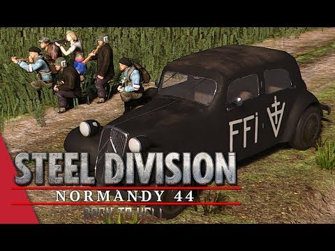 LIVE! Steel Division Saturday! Back To Hell Multiplayer with VulcanHDGaming