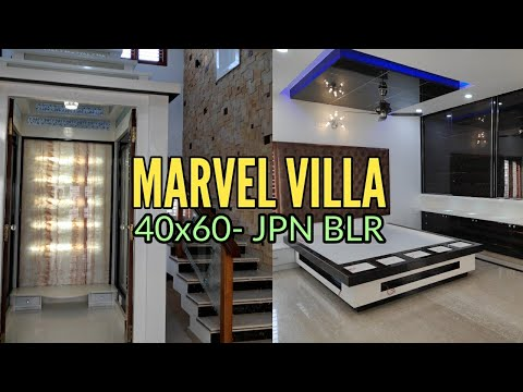 Marvel Villa- 40x60 Brand New Luxury Home In JP Nagar Bangalore
