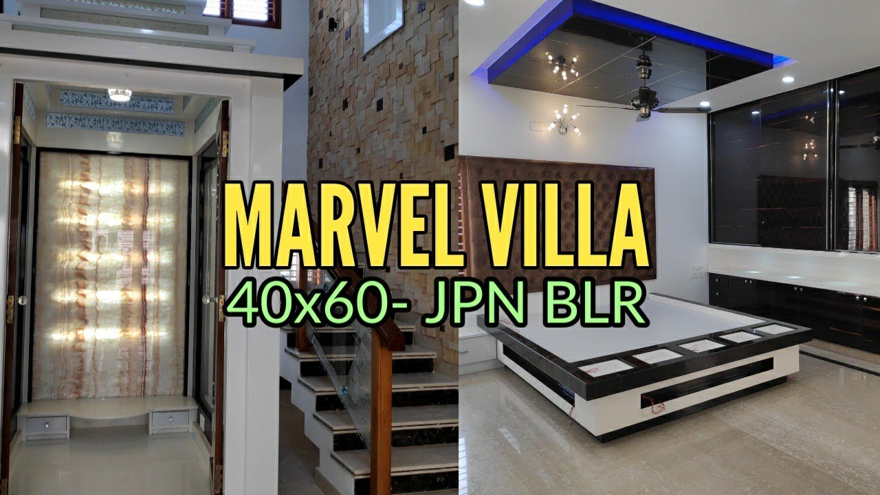 Marvel Villa- 40×60 Brand New Luxury Home Sold in JP Nagar Bangalore