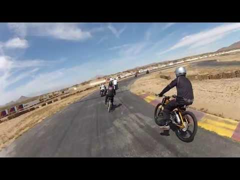 Motorized Bicycle Race 6-1-13 Grange Raceway Mid Class Heat 1 KTM Shifter