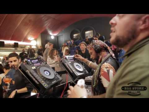Osunlade & Boddhi Satva B2B DJ Set @ The BBE Store (Record Store Day 2017)
