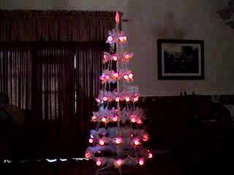 Incredible Christmas tree light show
