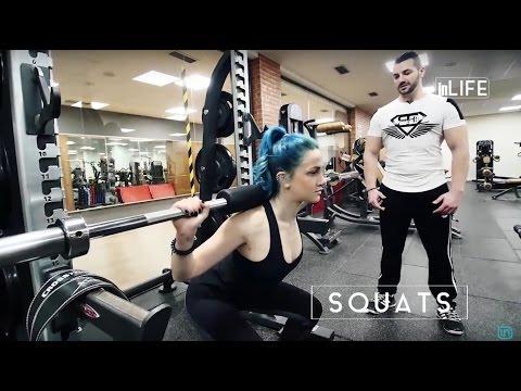 Beautiful Life - City Fitness Club / Si të performojmë ushtrimin Squats