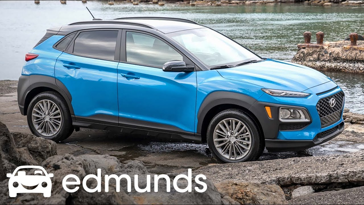 2018 hyundai kona review first drive edmunds youtube. Black Bedroom Furniture Sets. Home Design Ideas