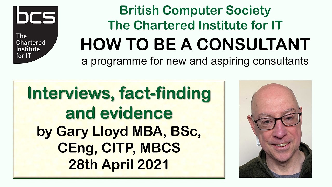Extract: How to be a consultant