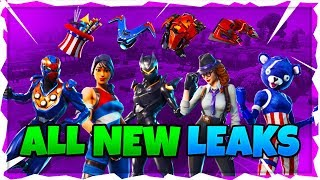 *NEW* Fortnite: LEAKED NEW SKINS, WEAPON, TOOLS, GLIDERS, DANCES AND MORE! (Holiday Skins and More)