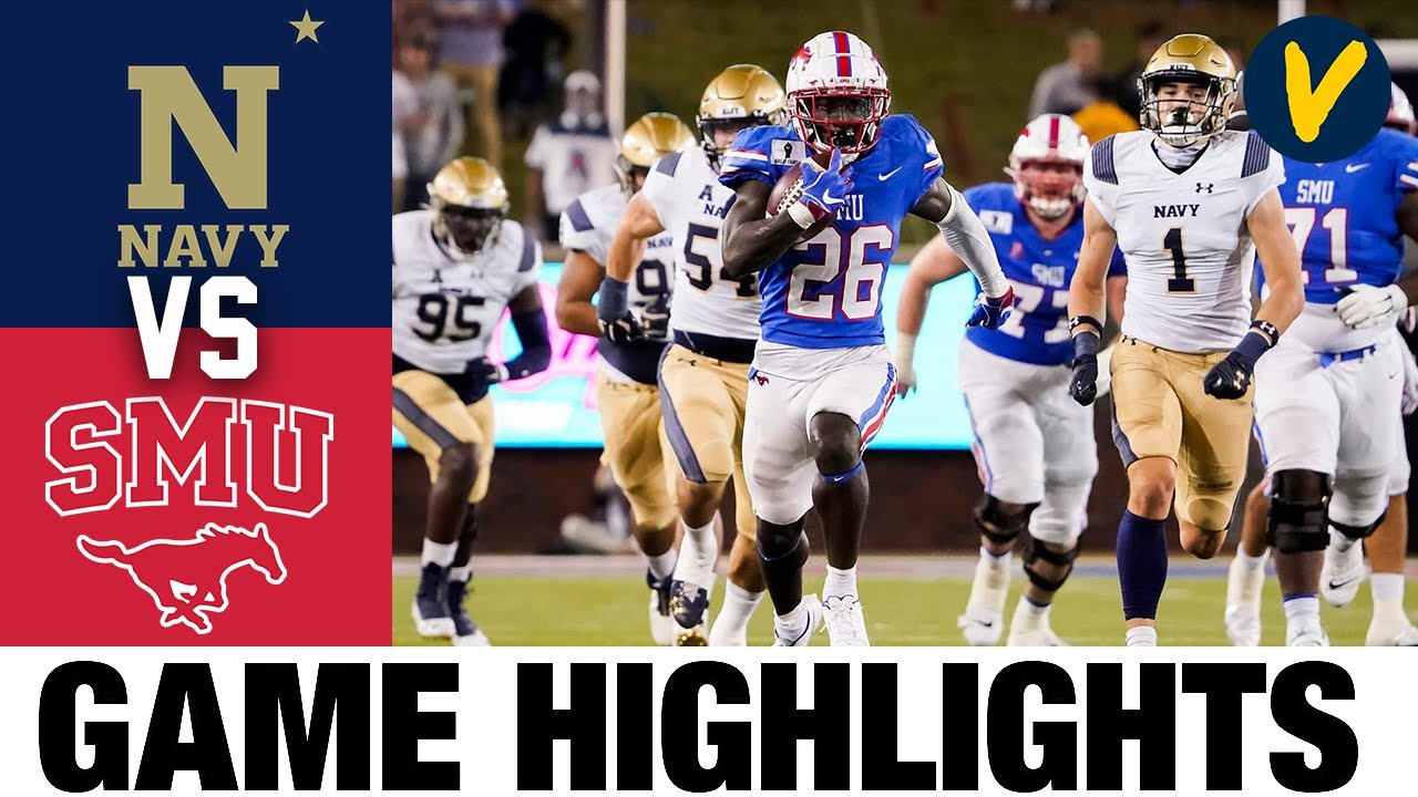 Navy Vs Smu Highlights Week 9 2020 College Football Highlights Youtube