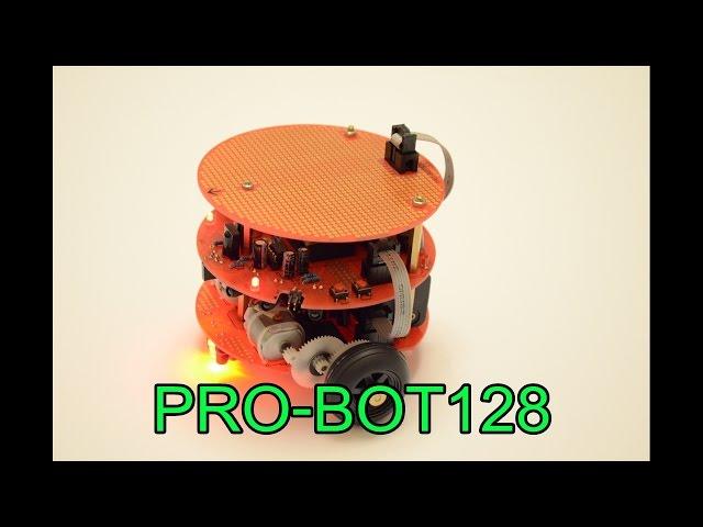 PRO- BOT128 Linefollowing Linienverfolgung