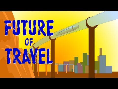 Supersonic jets, hyperloop, maglev trains, the future of travel is exciting.