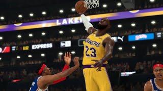Lakers vs 76ers Full Game Highlights   NBA March 3, 2020   Los Angeles vs Philadelphia (NBA 2K)
