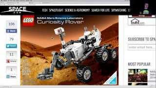 NASA LRO Satellite Spots Chinese Yuto Rover (Jade Rabbit), LEGO Curiosity Rover, Quick WUITS Update