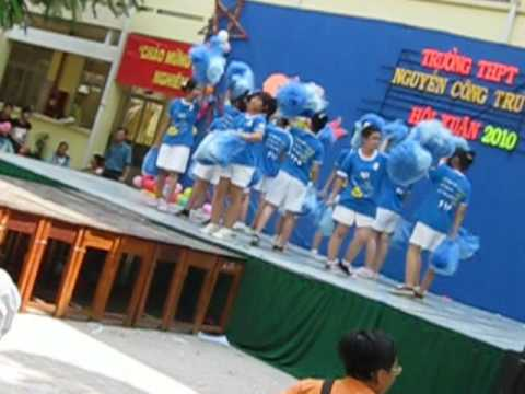 10A13 nhảy cổ động NCT high school 5/2/2010