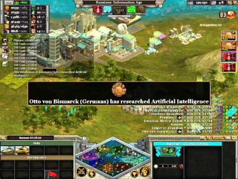"Abuff1 plays Rise Of Nations Gold ep 10 ""Winning my first territory"""
