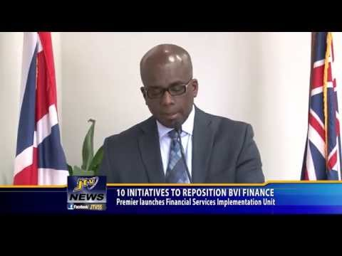 10 INITIATIVES TO REPOSITION BVI FINANCE
