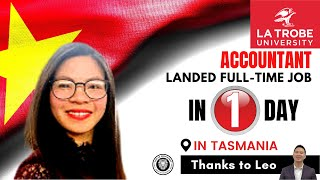 A MIGRANT LANDED A FULL TIME ACCOUNTING JOB IN TASMANIA IN 3 DAYS. WATCH TIL THE END TO KNOW HOW