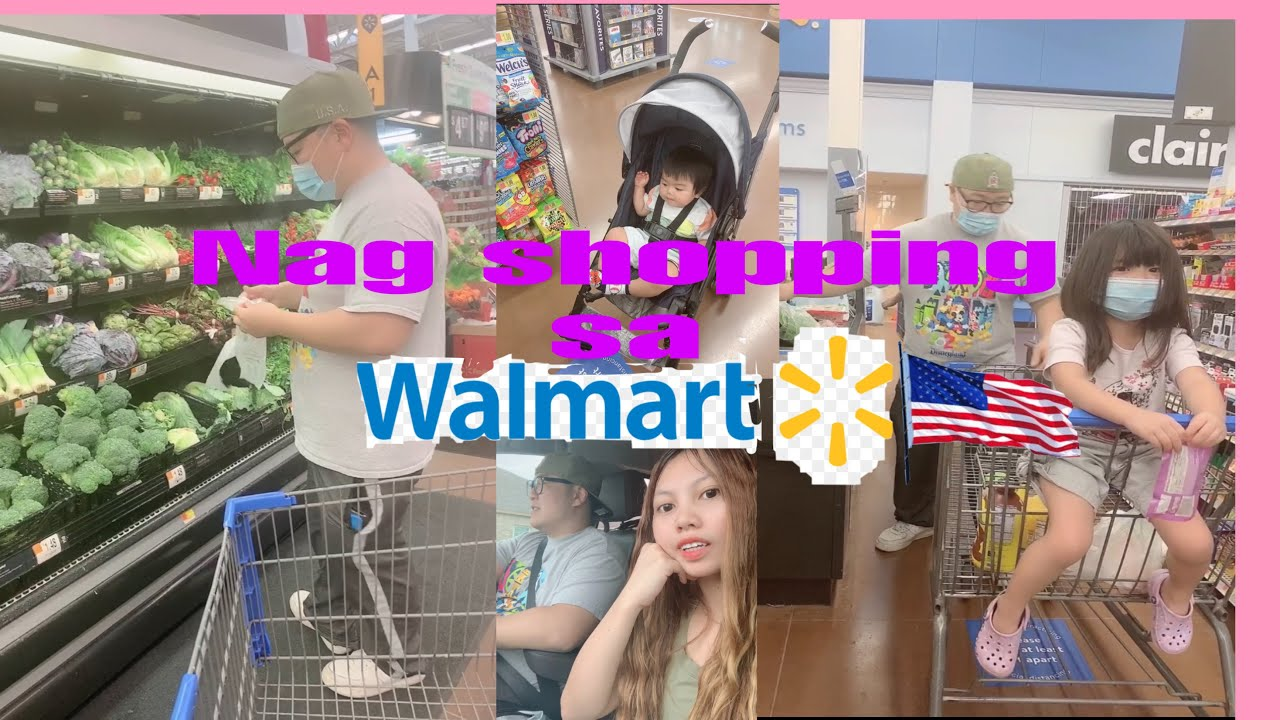 Shopping at Walmart | Filipina U.S.A LIFE | APRIL & HYO VLOG