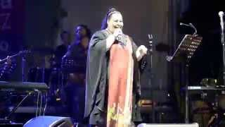 Мариам Мерабова на Усадьба Jazz в Царицыно, 20 июня 2015 года. Песня