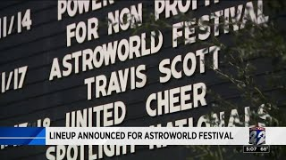 Lineup announced for Astroworld Festival