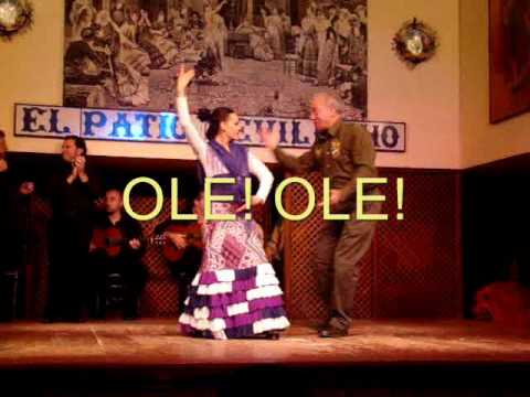Eduardo Flamenco Dance (Ole) in Sevilla, Spain