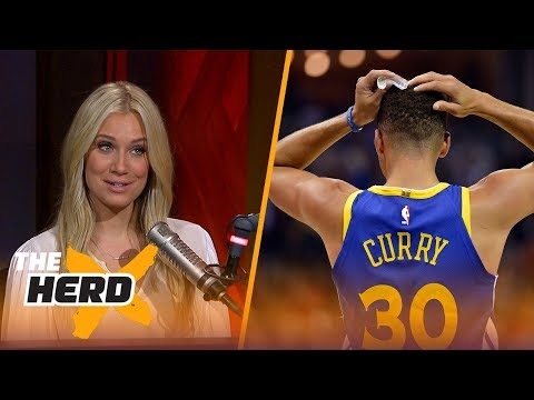 Kevin Durant, Steph Curry ejected in Warriors loss to Grizz - Kristine and Colin react | THE HERD