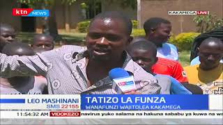Wanafunzi wajitolea Kakamega, wazuru Butere kuendelea na shughuli ya kuwatoa wanakijiji funza