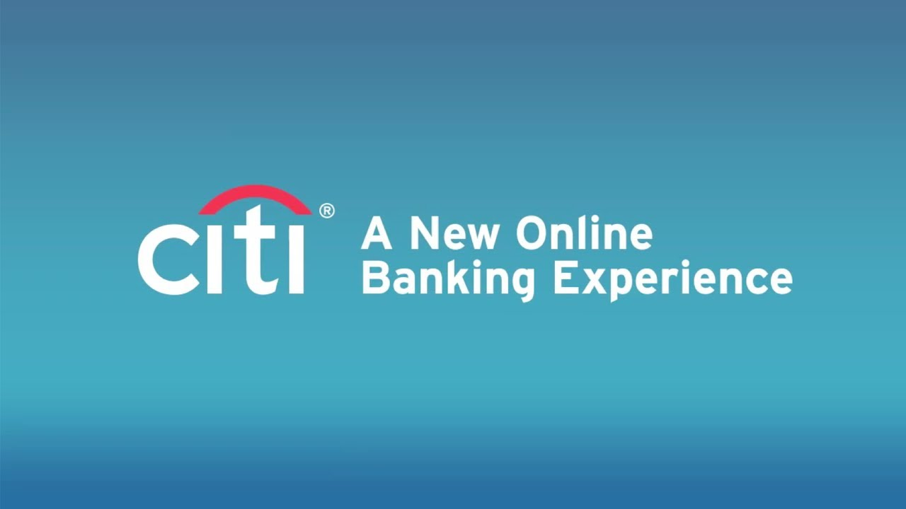 Citibank Account Online >> New Citibank Online - YouTube