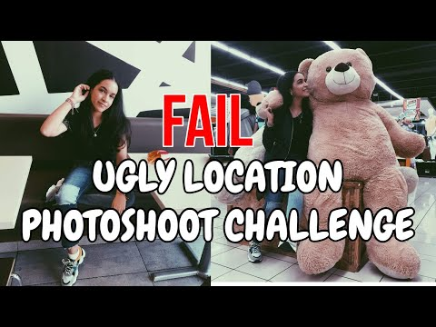 *FAIL* Ugly Location Photoshoot Challenge