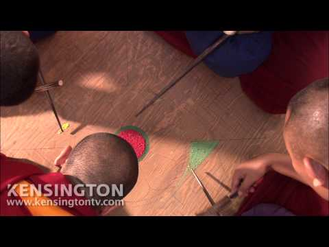 Tibetan Monks Create a Mandala Sandpainting in a Shopping Mall The Sacred Balance