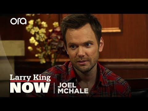 Joel McHale On Why Chevy Chase Was Unhappy | Larry King Now | Ora TV