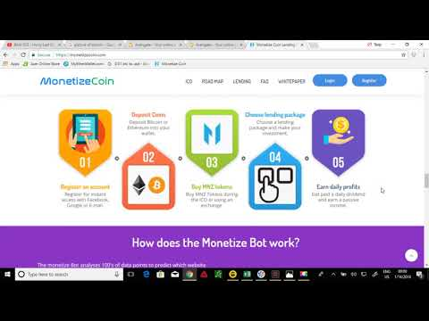 MONETIZE COIN ICO - HOT HOT HOT