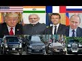 Top 10 Politicians Car | France president use Bugatti Modi Range Rover