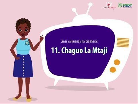 FSDT/Noa Ubongo: Jinsi ya Kuanzisha Biashara: Chaguo...
