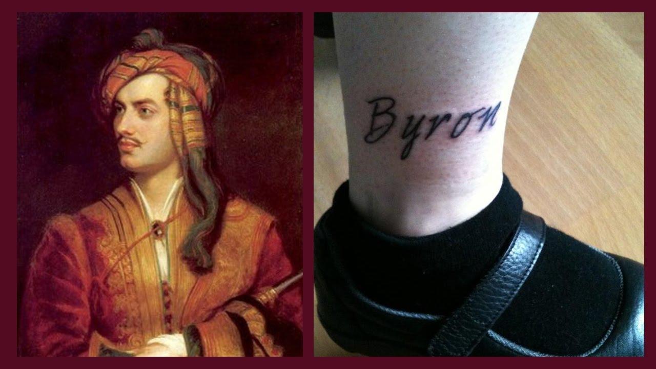 My Lord Byron Tattoo Amy Mclean