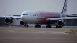 Airbus A340-600 Formula 1 Livery - Etihad Airways