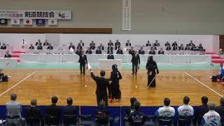 福井しあわせ元気国体 剣道競技 決勝戦 鹿児島県 対 東京都