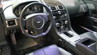 Aston-Martin V8 Vantage-D&M Motorsports Video Review with Chris Moran 2012