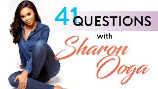 SHARON OOJA - 41 QUESTIONS - KNOW YOUR CELEBRITY