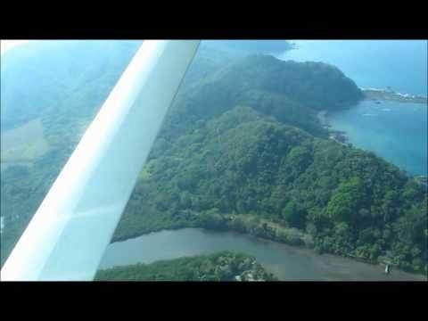 Sansa Flight From Tambor To San Jose, Costa Rica