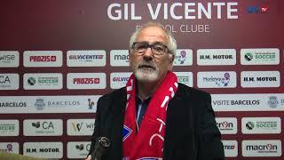 José Bento sobre o Gil Vicente FC-Fiães SC