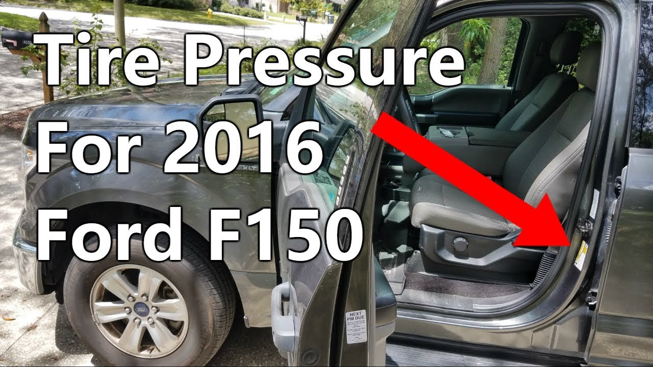 how much air pressure to put in the tires ford f150 youtube. Black Bedroom Furniture Sets. Home Design Ideas