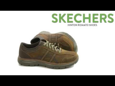 Skechers Hinton Romato Shoes Leather, Relaxed Fit (For Men)