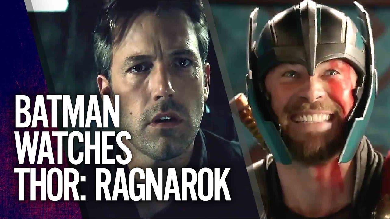 Batman Reacts to Thor: Ragnarok Trailer